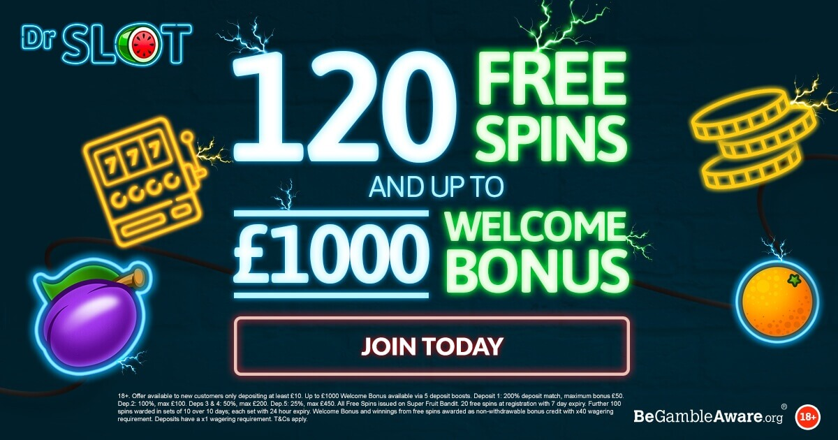 5 Ways To Get Free Spins Bonuses At Dr Slot Casino