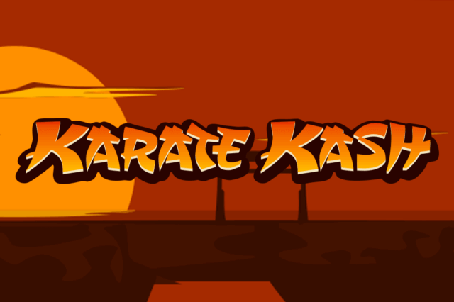 Karate Kash mobile slots by Dr Slot Casino