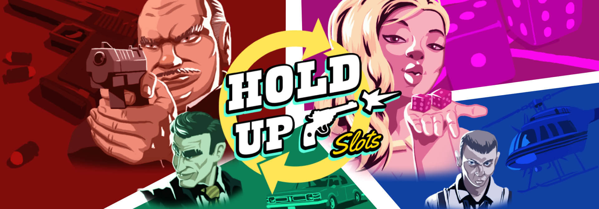 NEW GAME: Hands in the air – this is Hold Up Slots!
