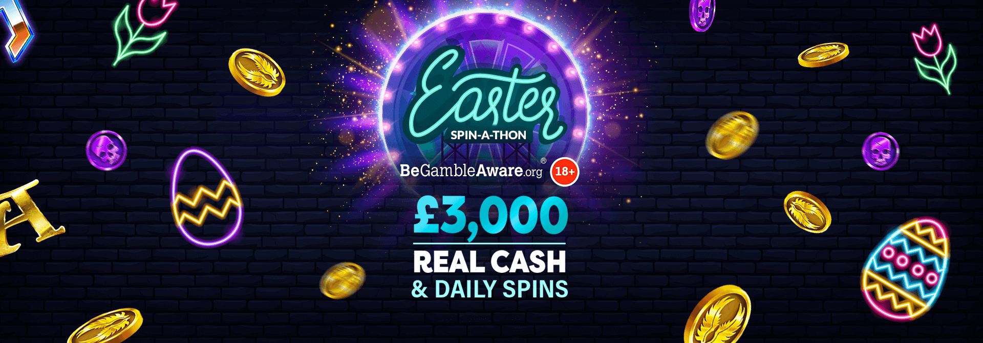 Did you manage to spin-a-win with Dr Slot's Easter Spin-a-thon?