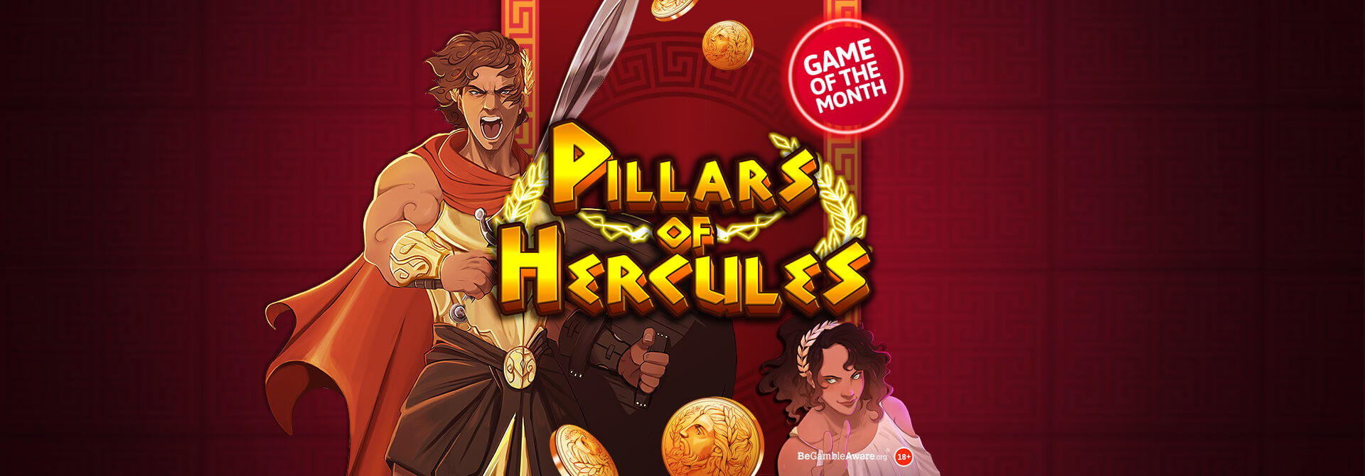 Get ready for your most heroic adventure yet, with Dr Slots newest Game, Pillars of Hercules Mobile Slots!